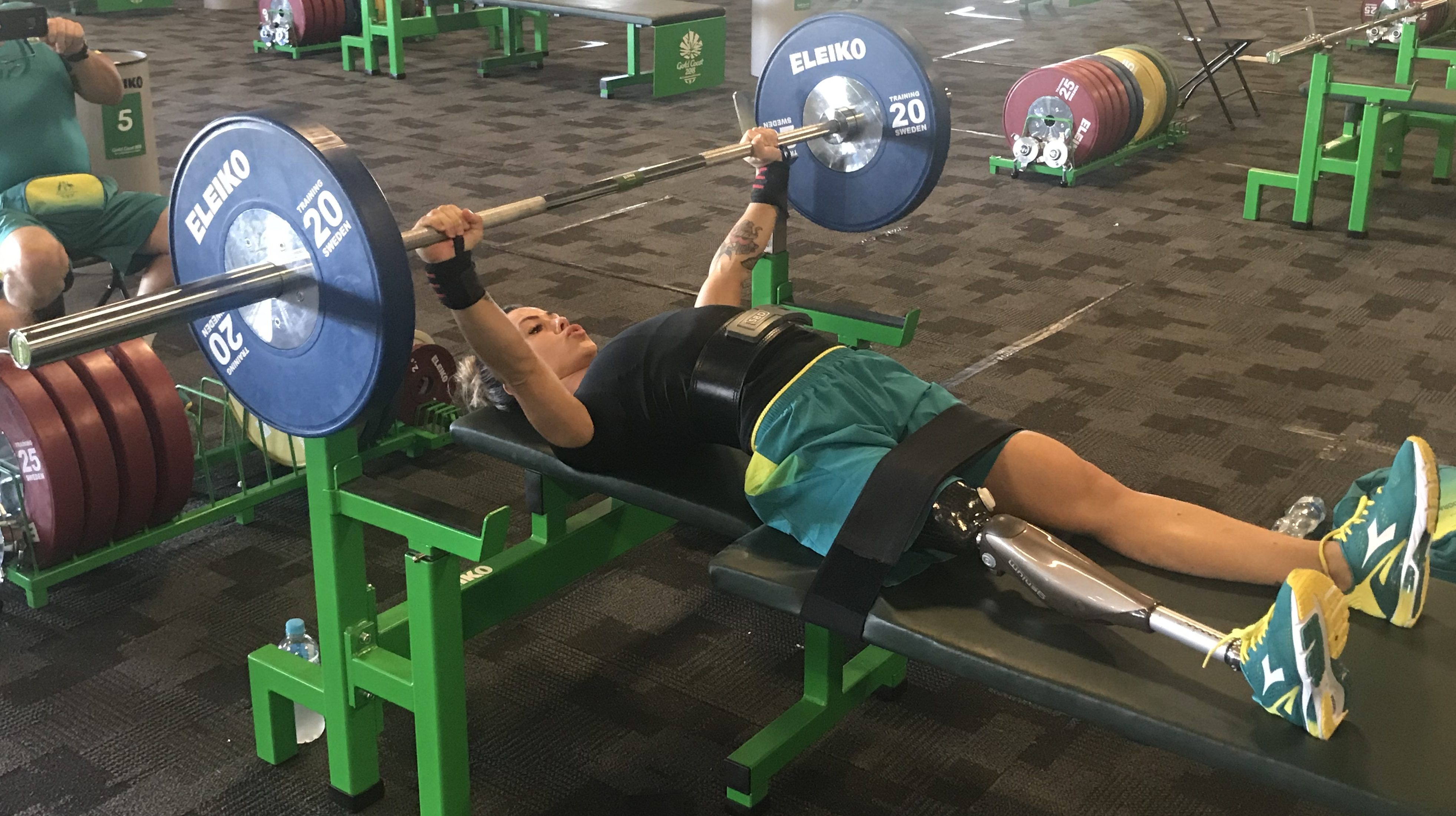 Comeback kid Cartwright aims for Para-powerlifting glory