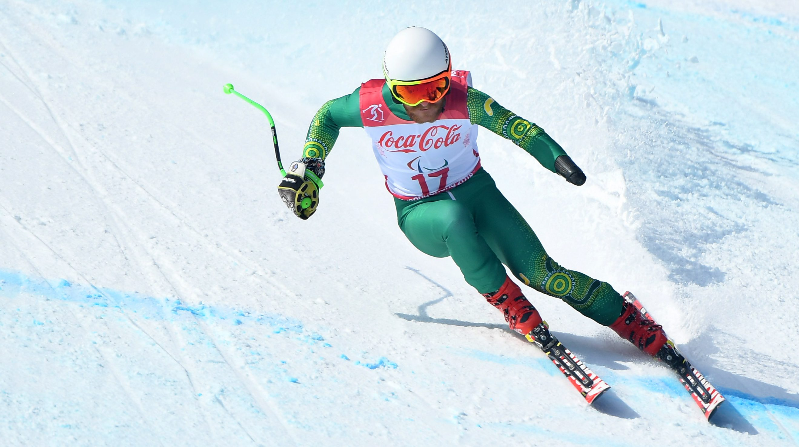 Survival test for Australia in the Super G at the PyeongChang Games