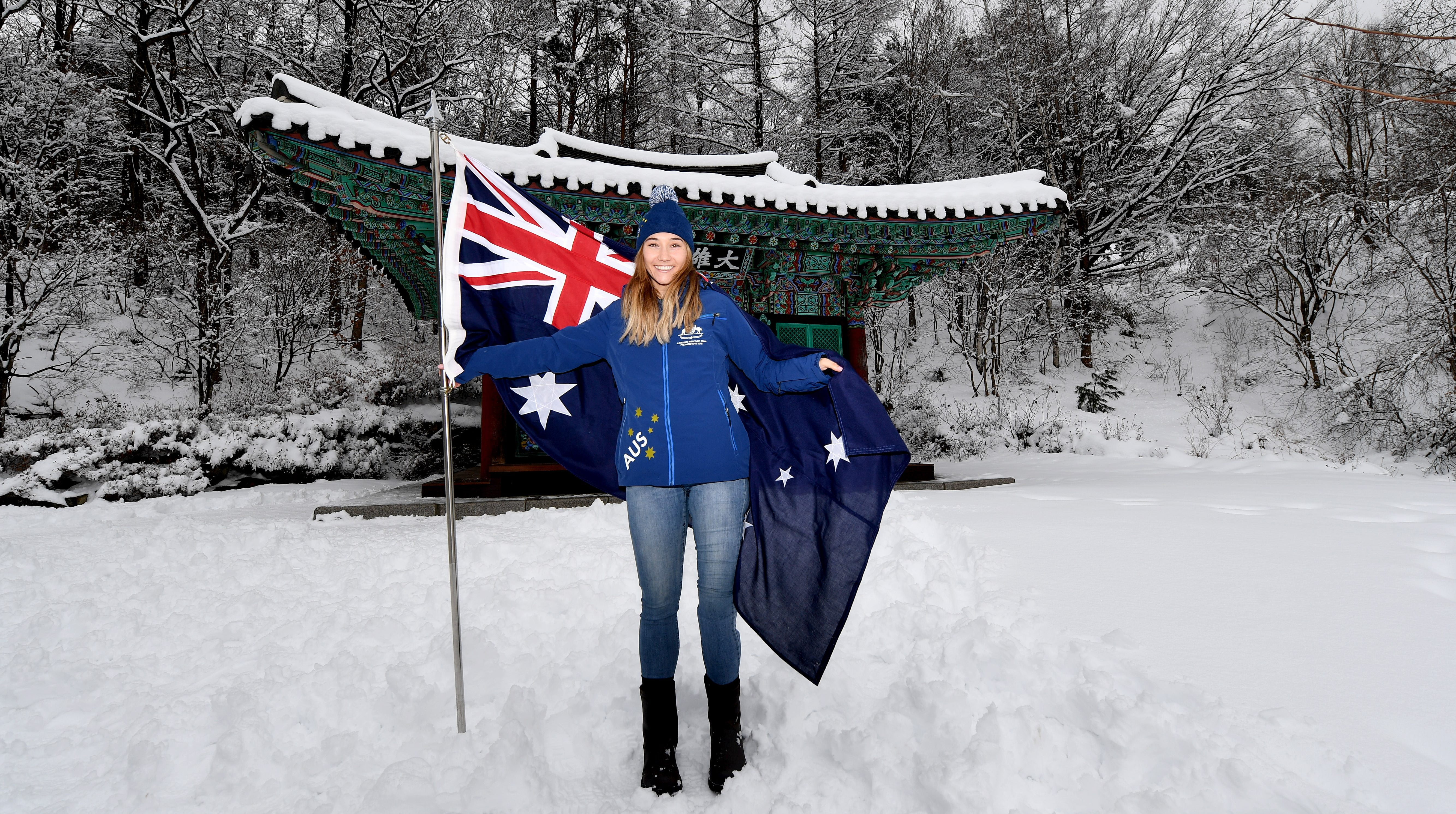Badenhorst becomes first female Australian Paralympic Winter Flag Bearer