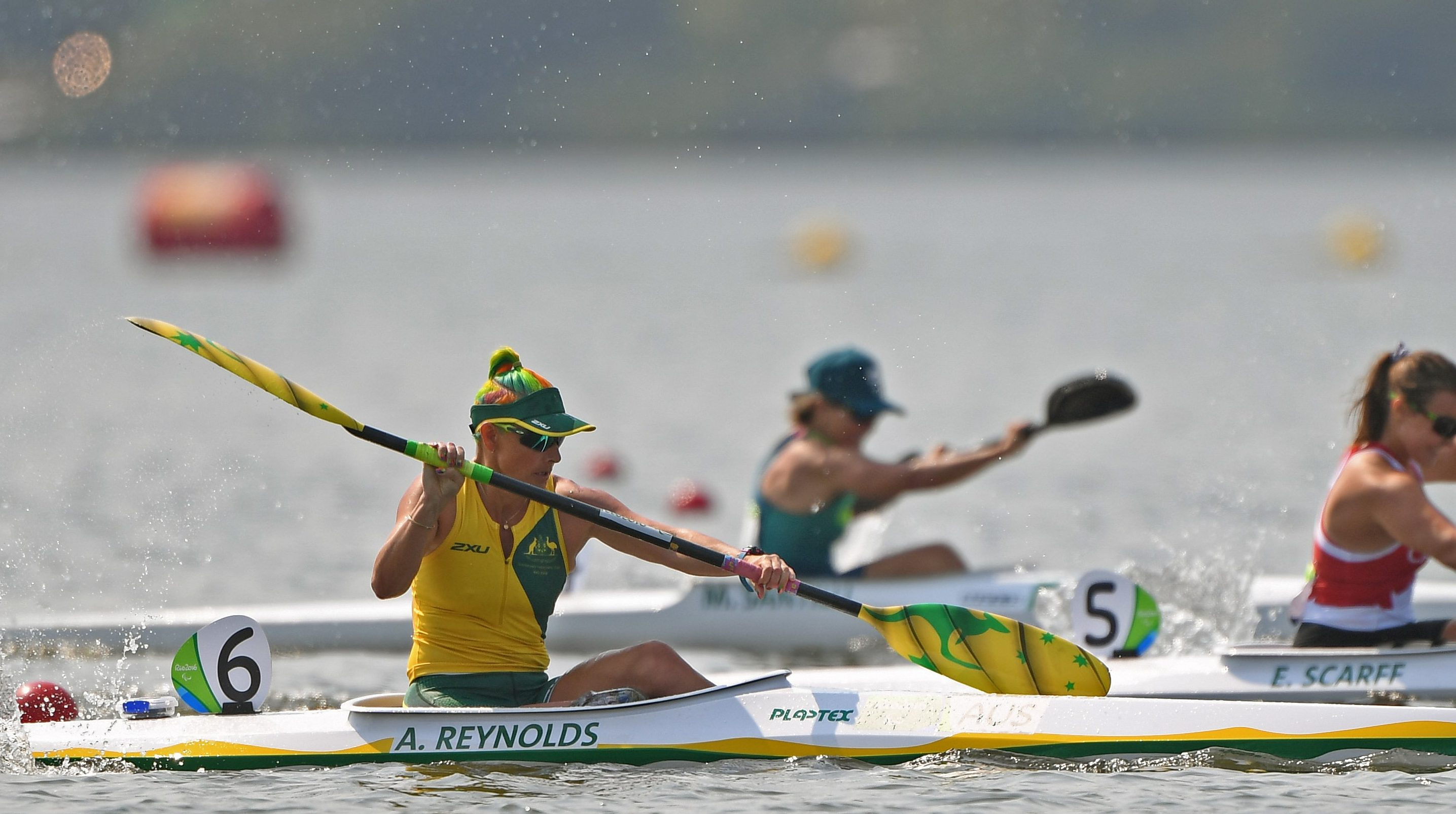 Paralympic paddlers to kick off international sprint season