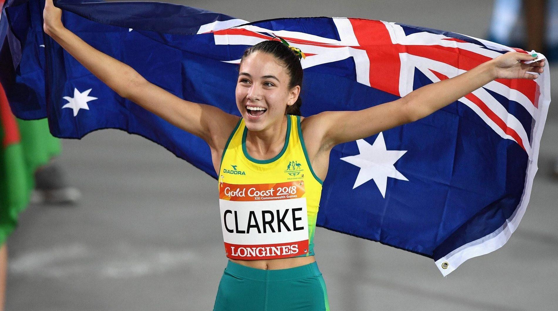 Surprise silver success for debutant Clarke