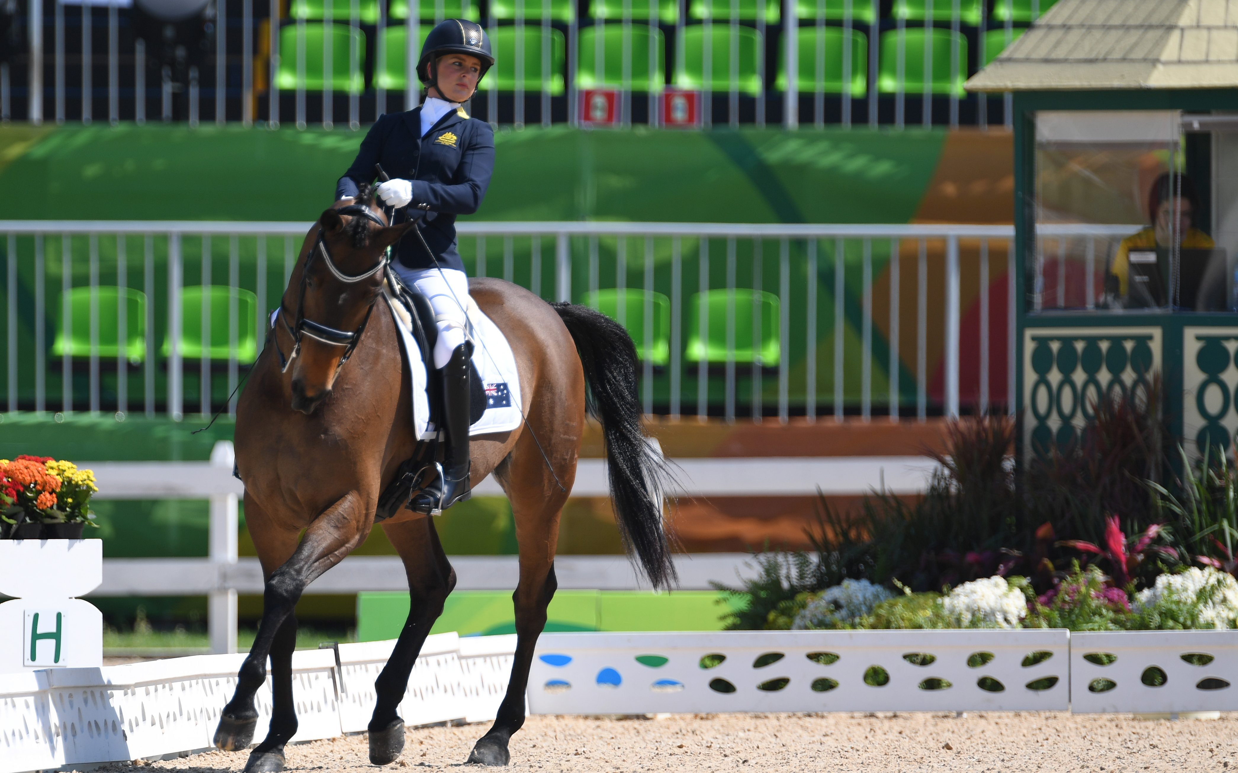 Booth to represent Australia at 2018 FEI World Equestrian Games