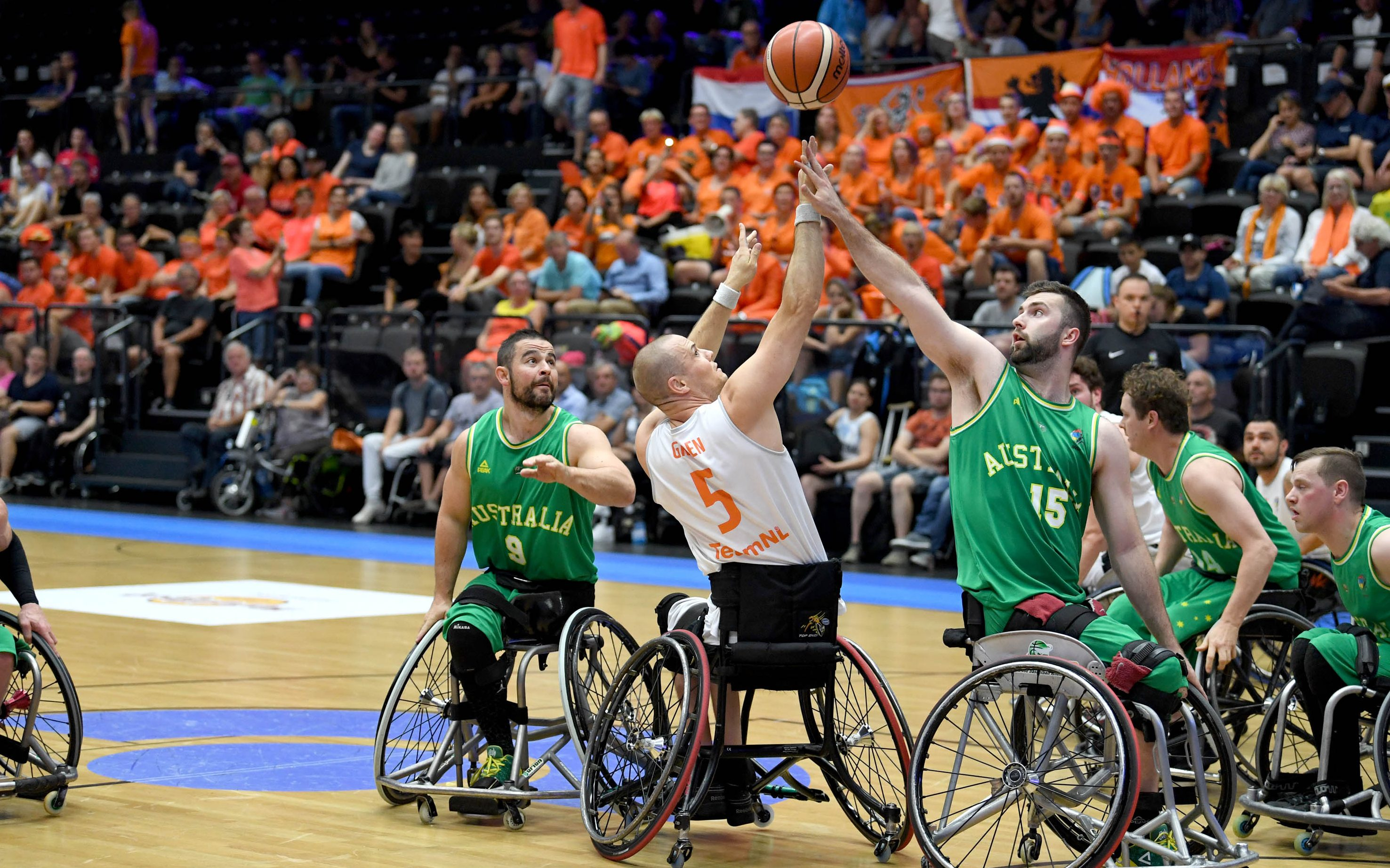 Rollers drop final game of 2018 IWBF World Champs group stage