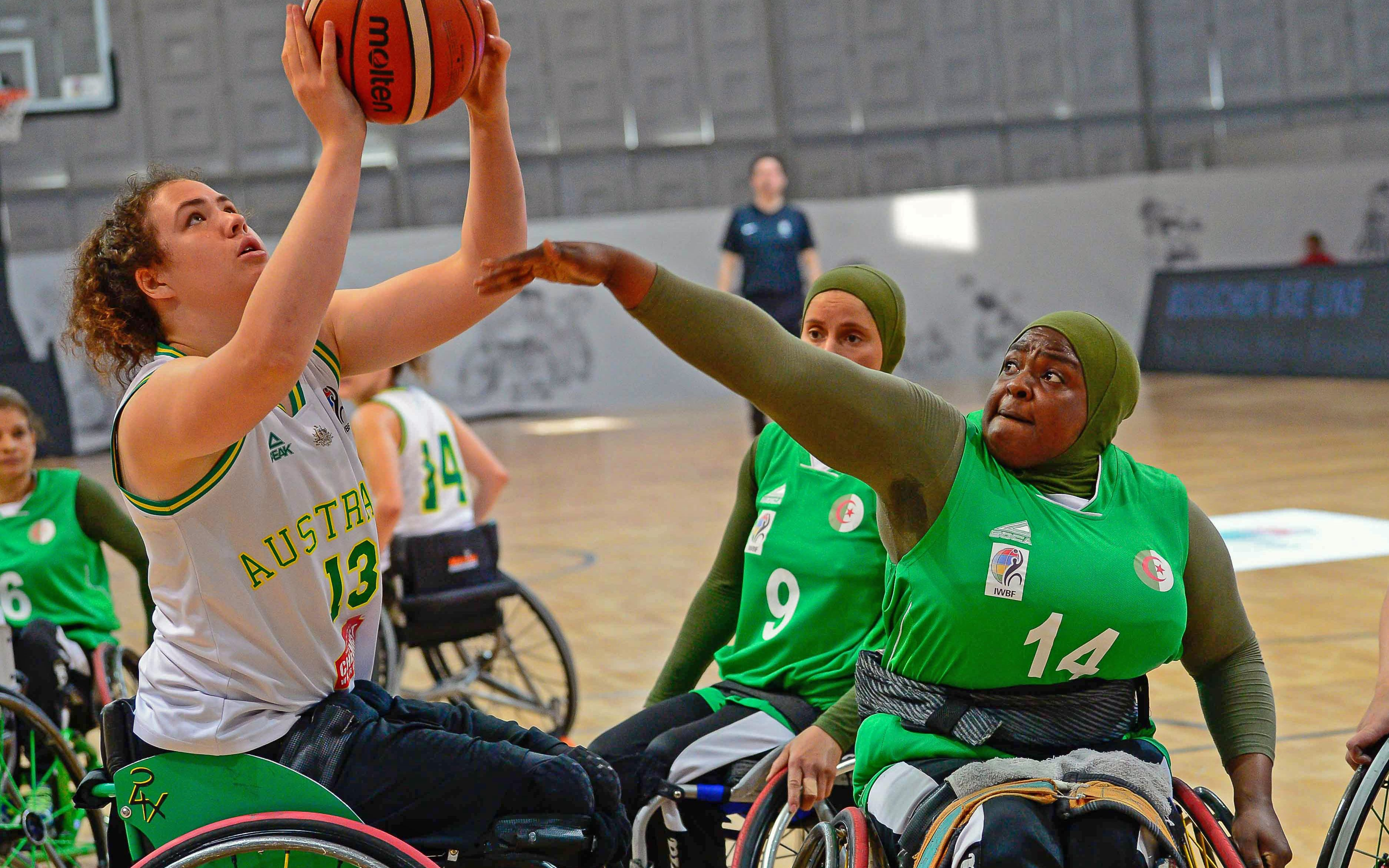 Gliders bounce back with win over Algeria at IWBF World Champs