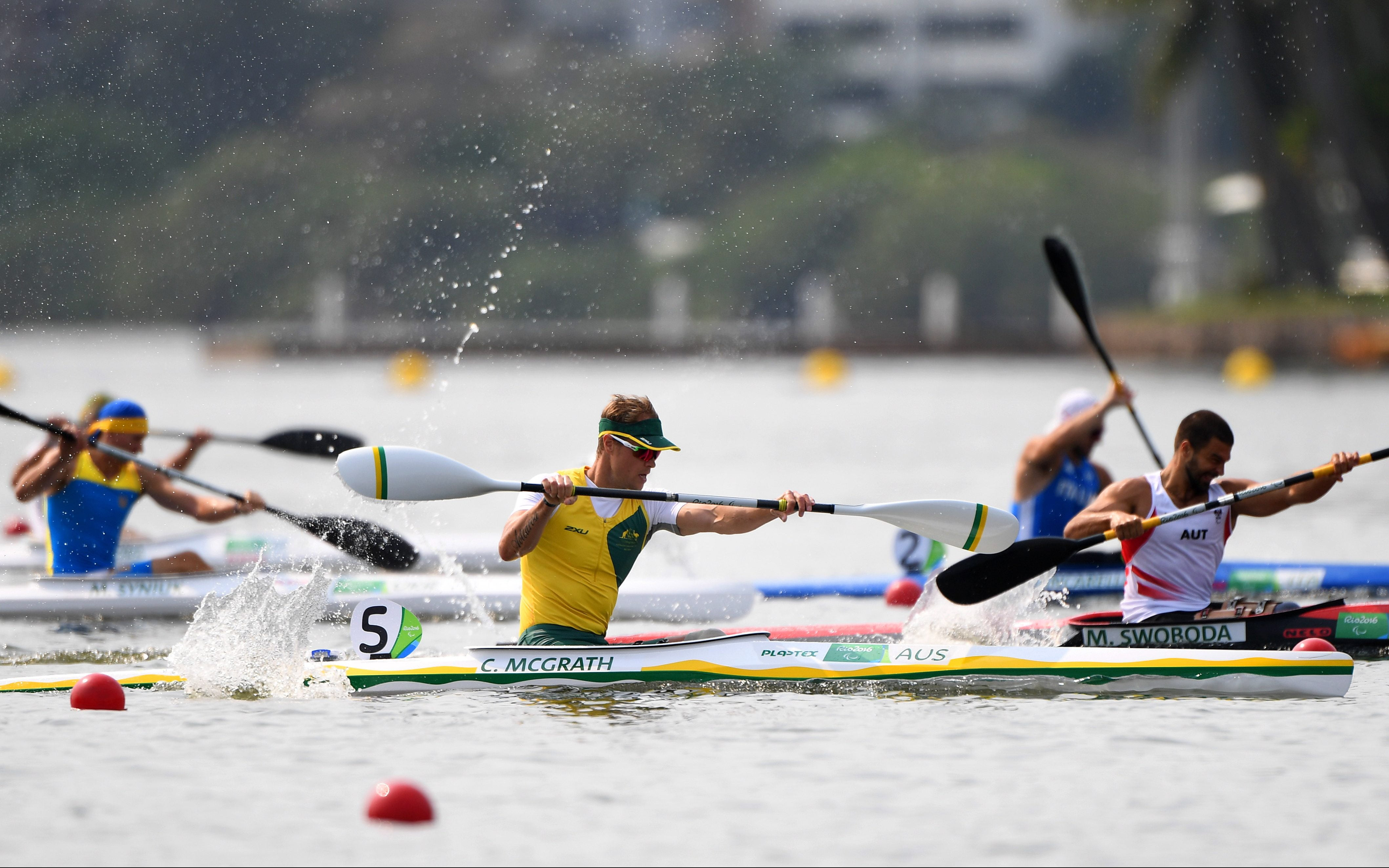 Para-canoeists kick off World Championships with a bang