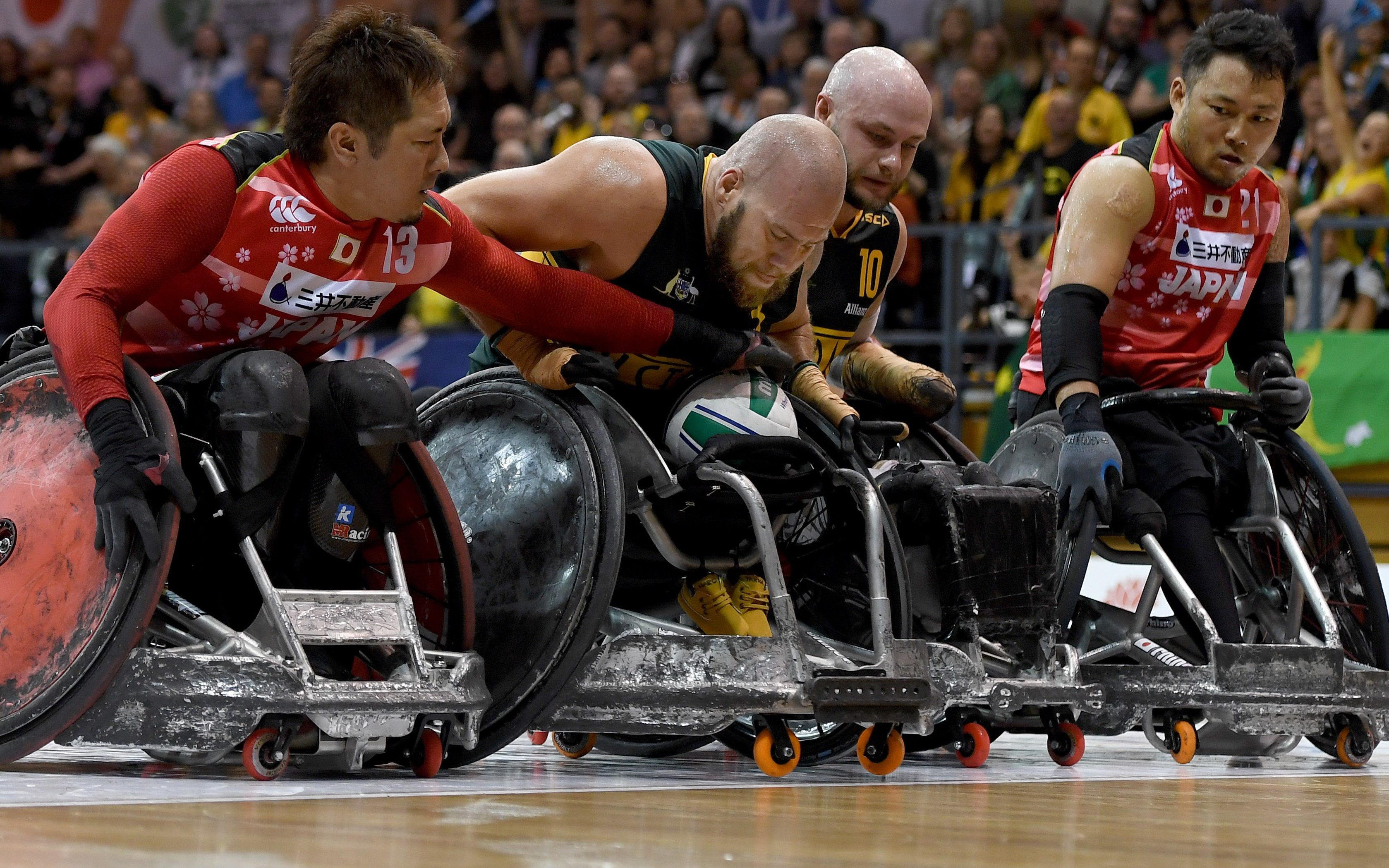 Australia claim silver at Wheelchair Rugby World Championship after losing to Japan