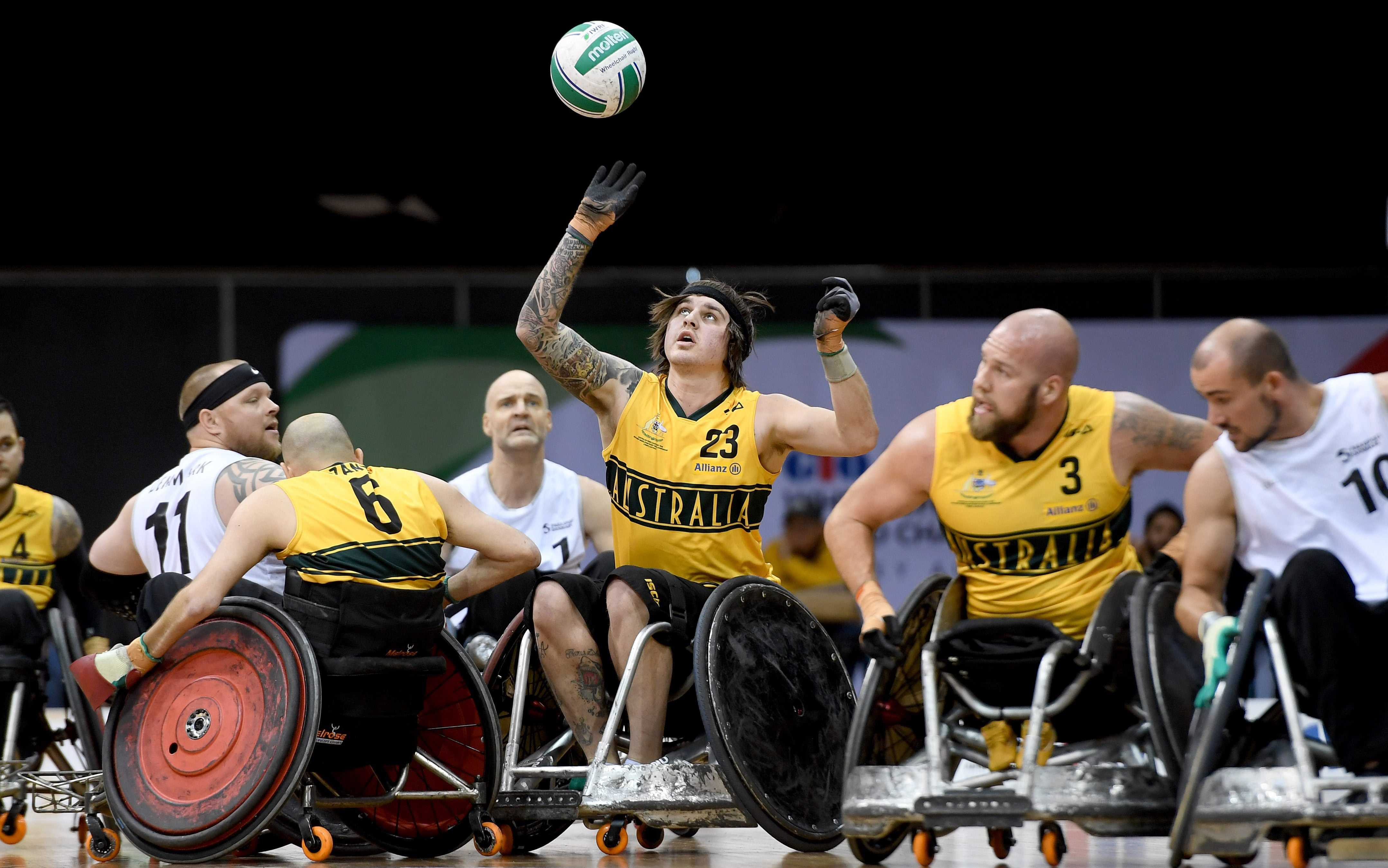Three from three for Australia at Wheelchair Rugby World Championships