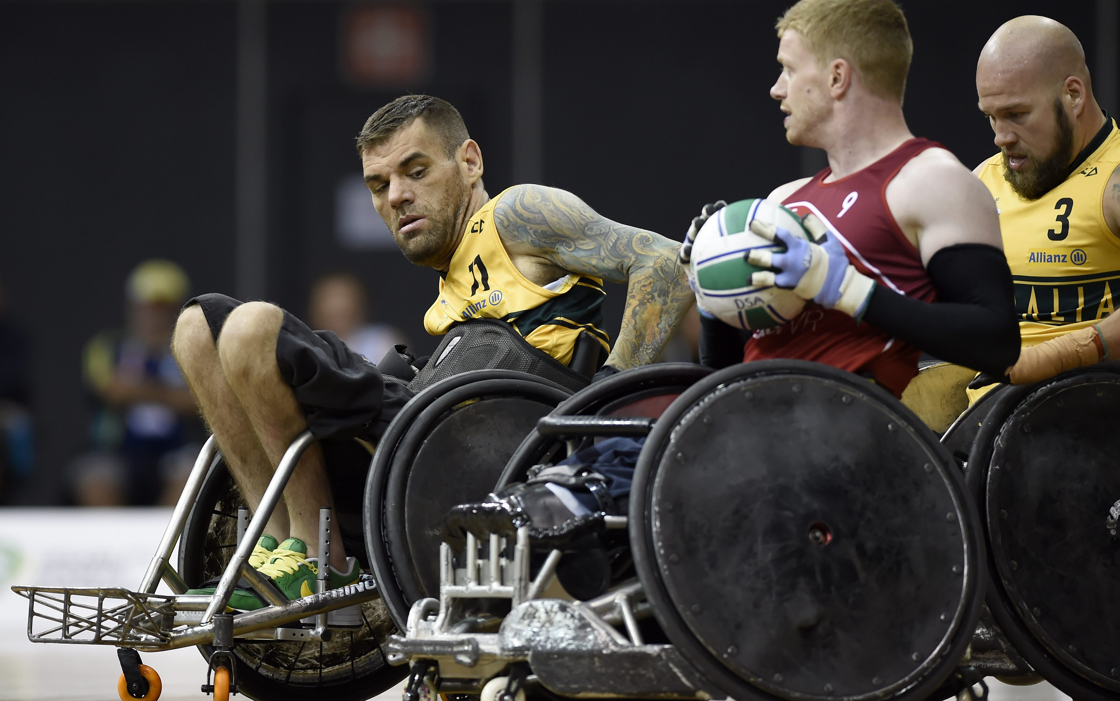 Australia to play gold medal match at IWRF Wheelchair Rugby World Championship