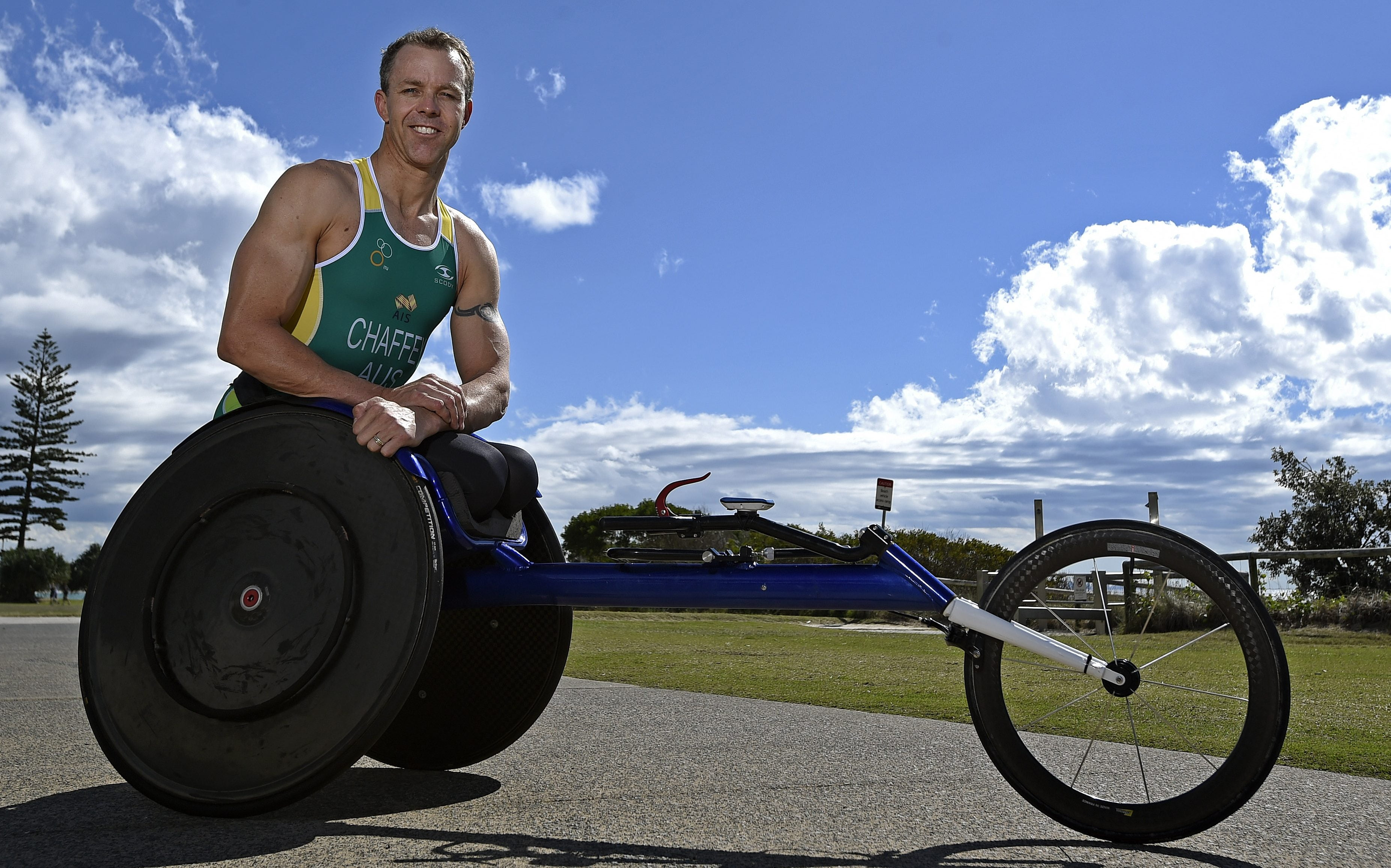 Para-triathletes line up for Gold Coast World Championships