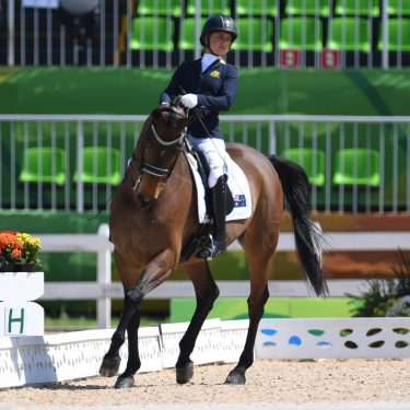 Booth places fourth at WEG
