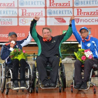 Brydon makes history at Shooting Para-sport Trap Championships