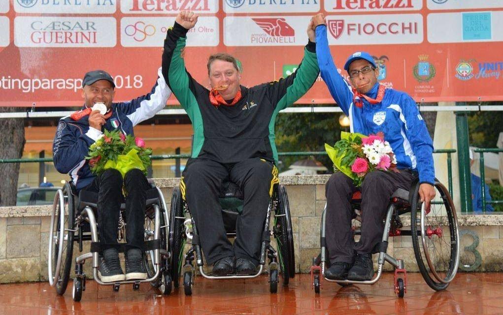 Brydon makes history at Shooting Para-sport Trap Championships
