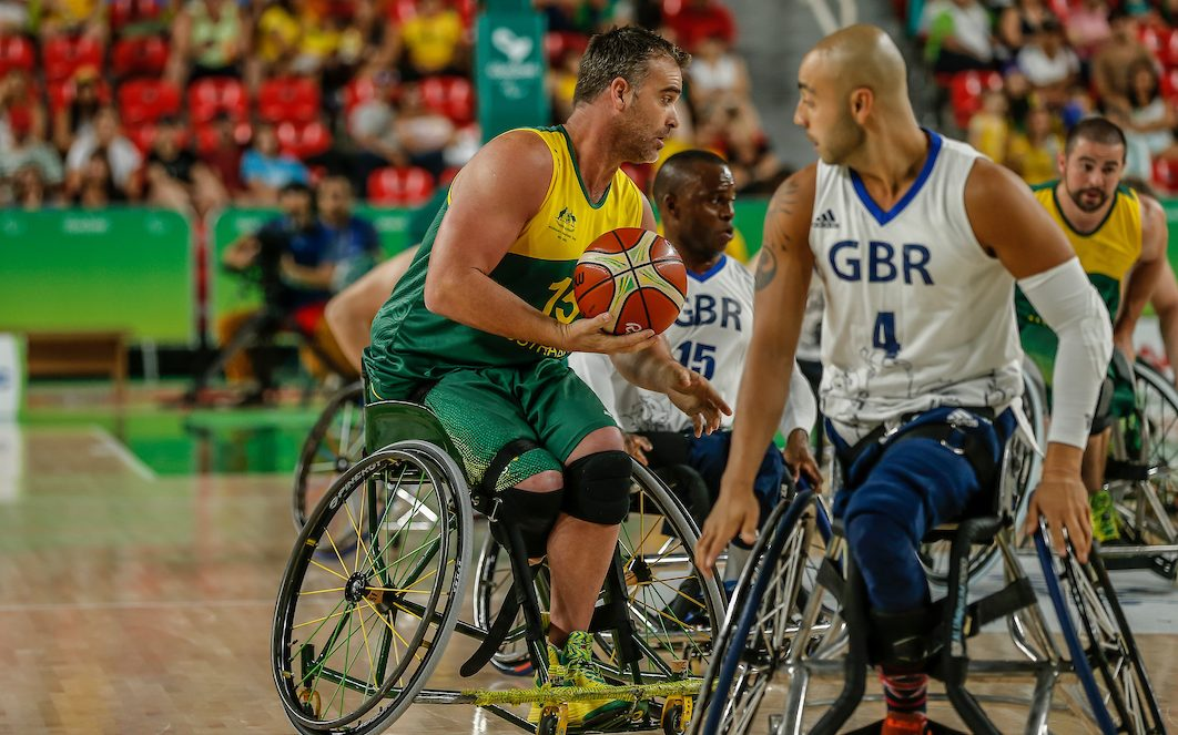 Red Dust Heelers get amongst the Invictus Games action