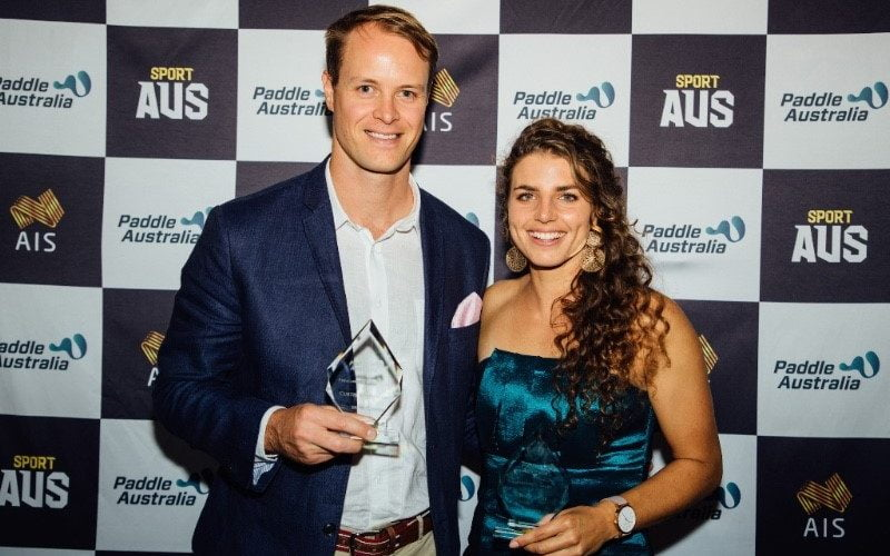 McGrath wins top gong at Paddle Australia Awards