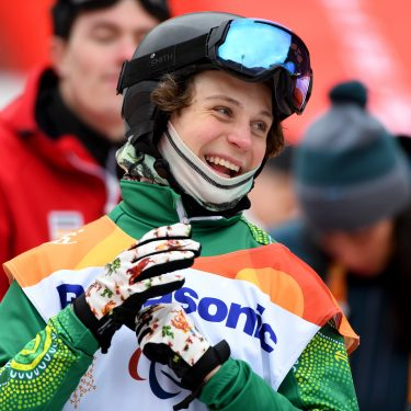 Day of firsts for Aussie Para-snowboarders in Dubai