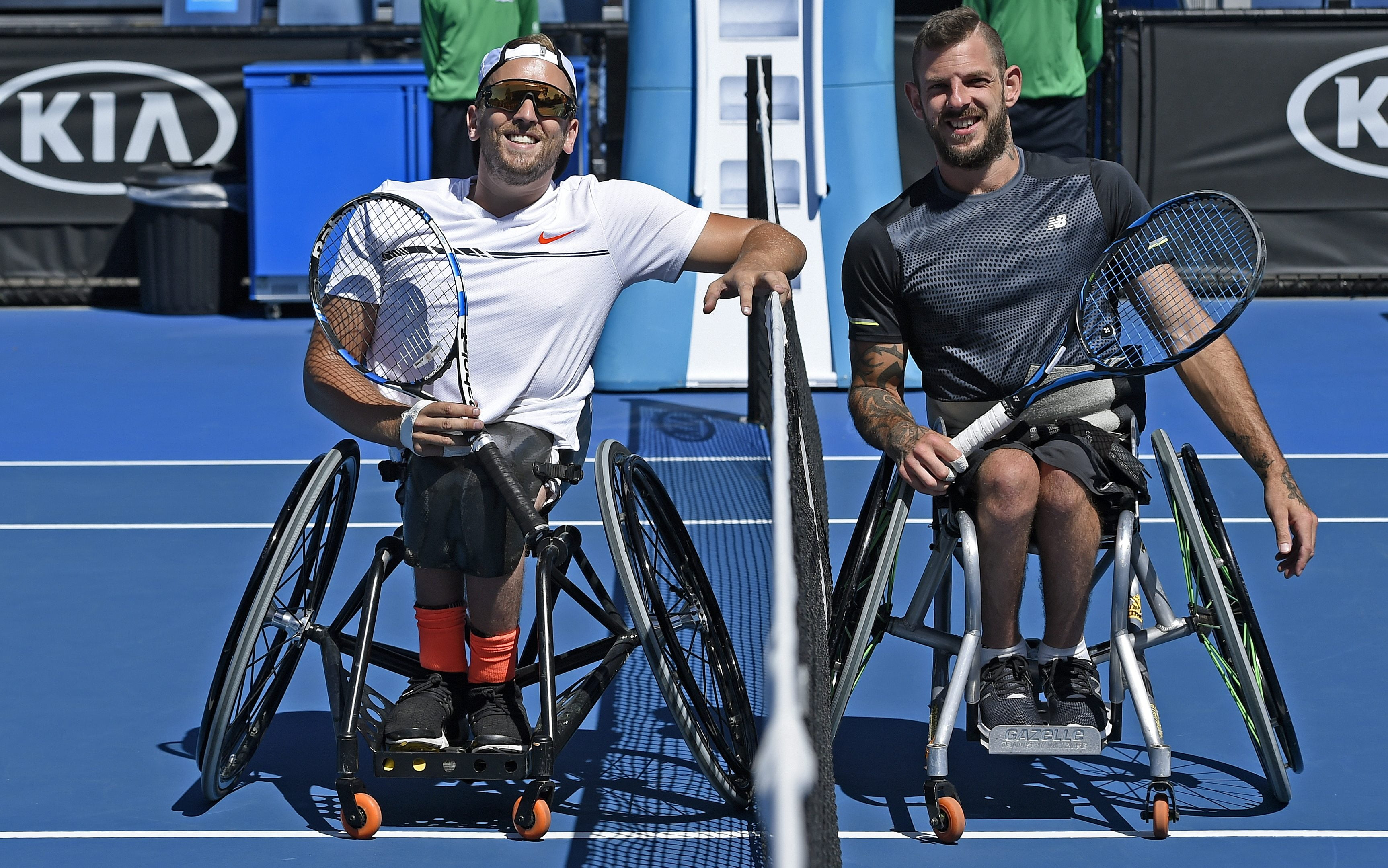 Alcott undefeated on day one of the Australian Open