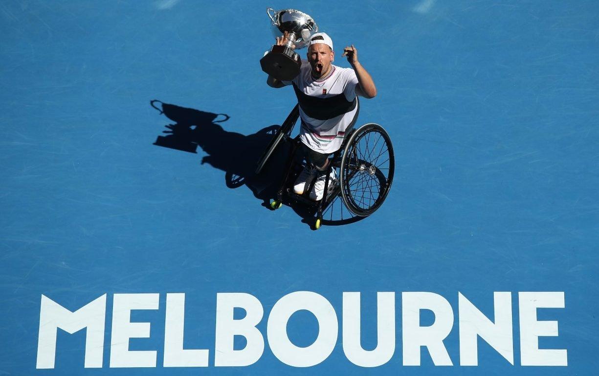 Alcott wins Australian Open title number five