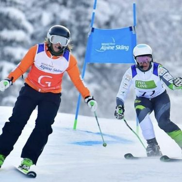 Silver for Perrine at World Para-alpine skiing Championships