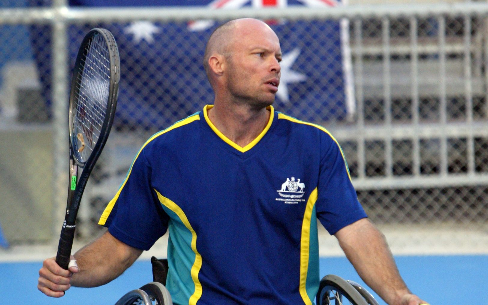 Wheelchair tennis icon David did it Hall