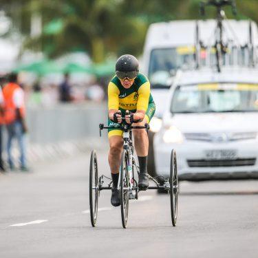 Para-cyclists light up Buninyong in history-making race