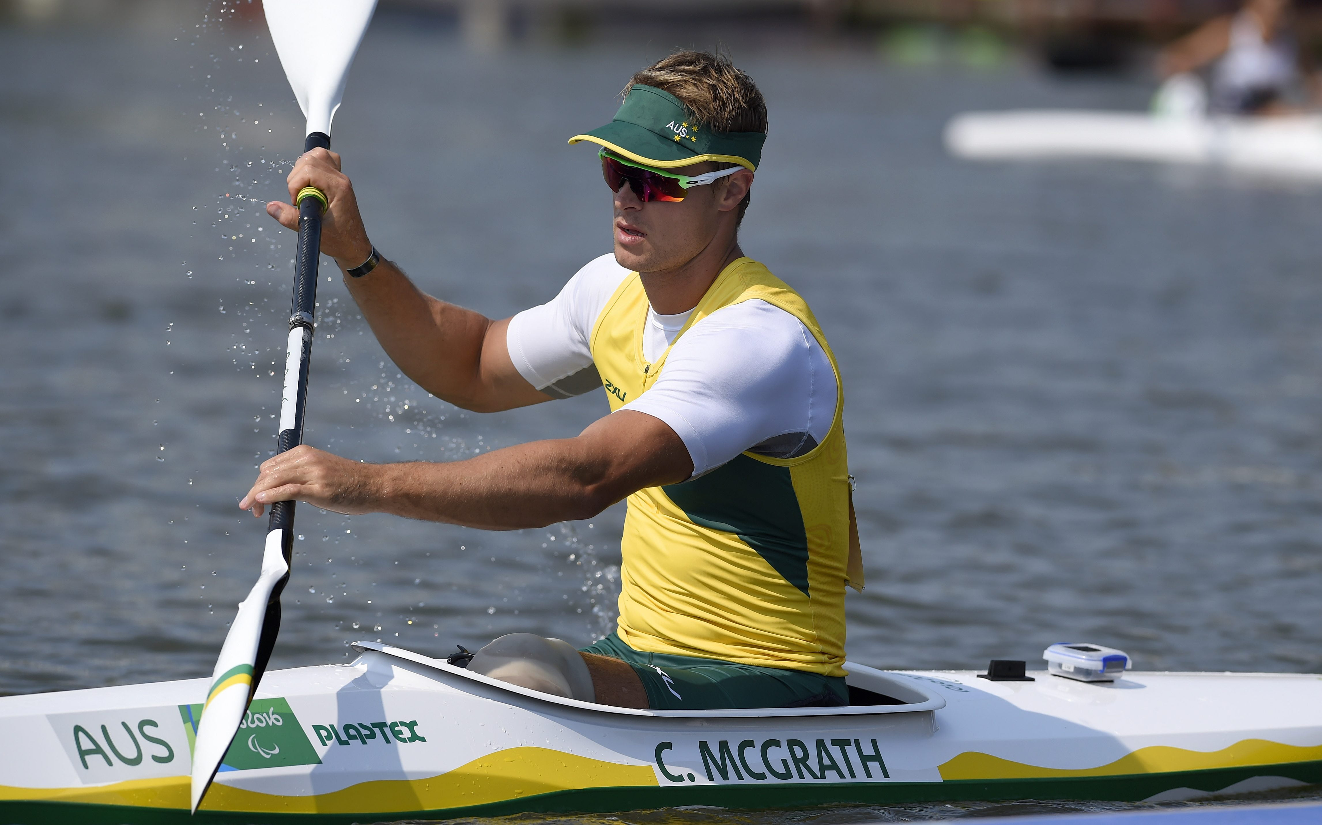 Flatwater champion McGrath gives rapids a go