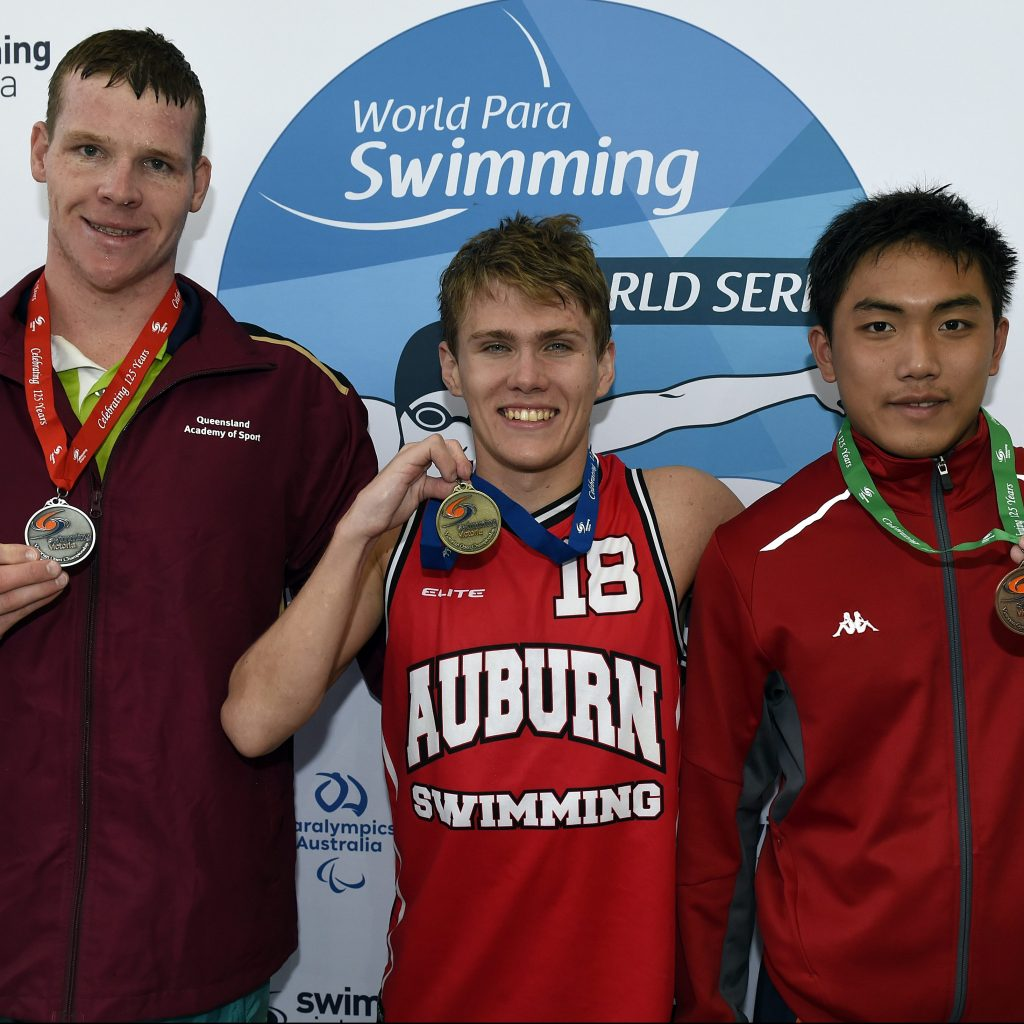 Flurry of medals on final night of World Para Swimming Series