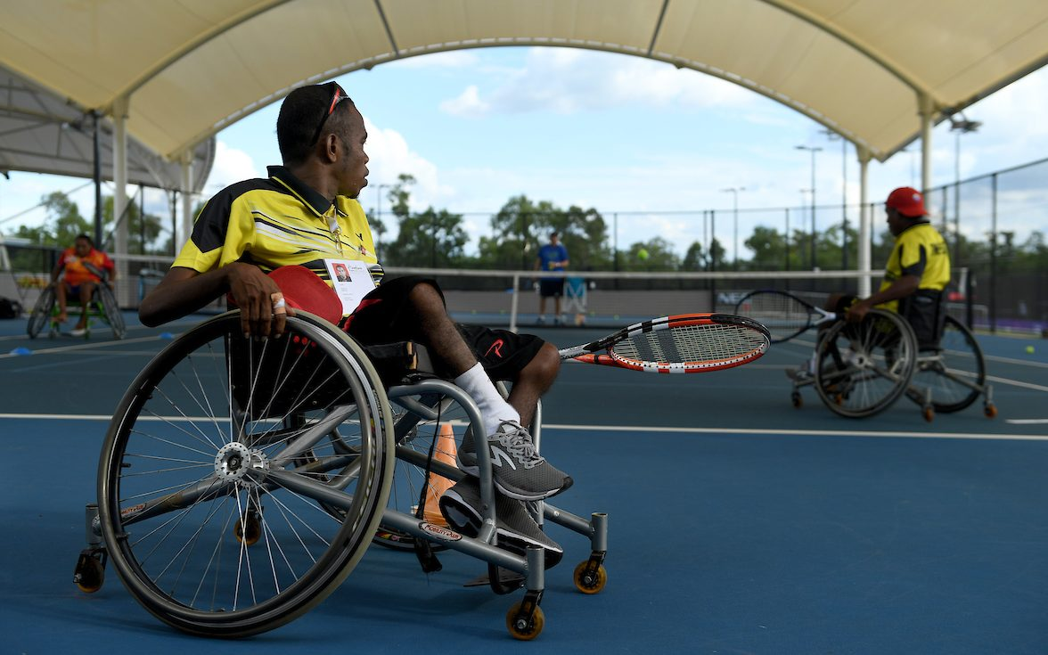 Wheelchair tennis aces lend helping hand to Timor Leste