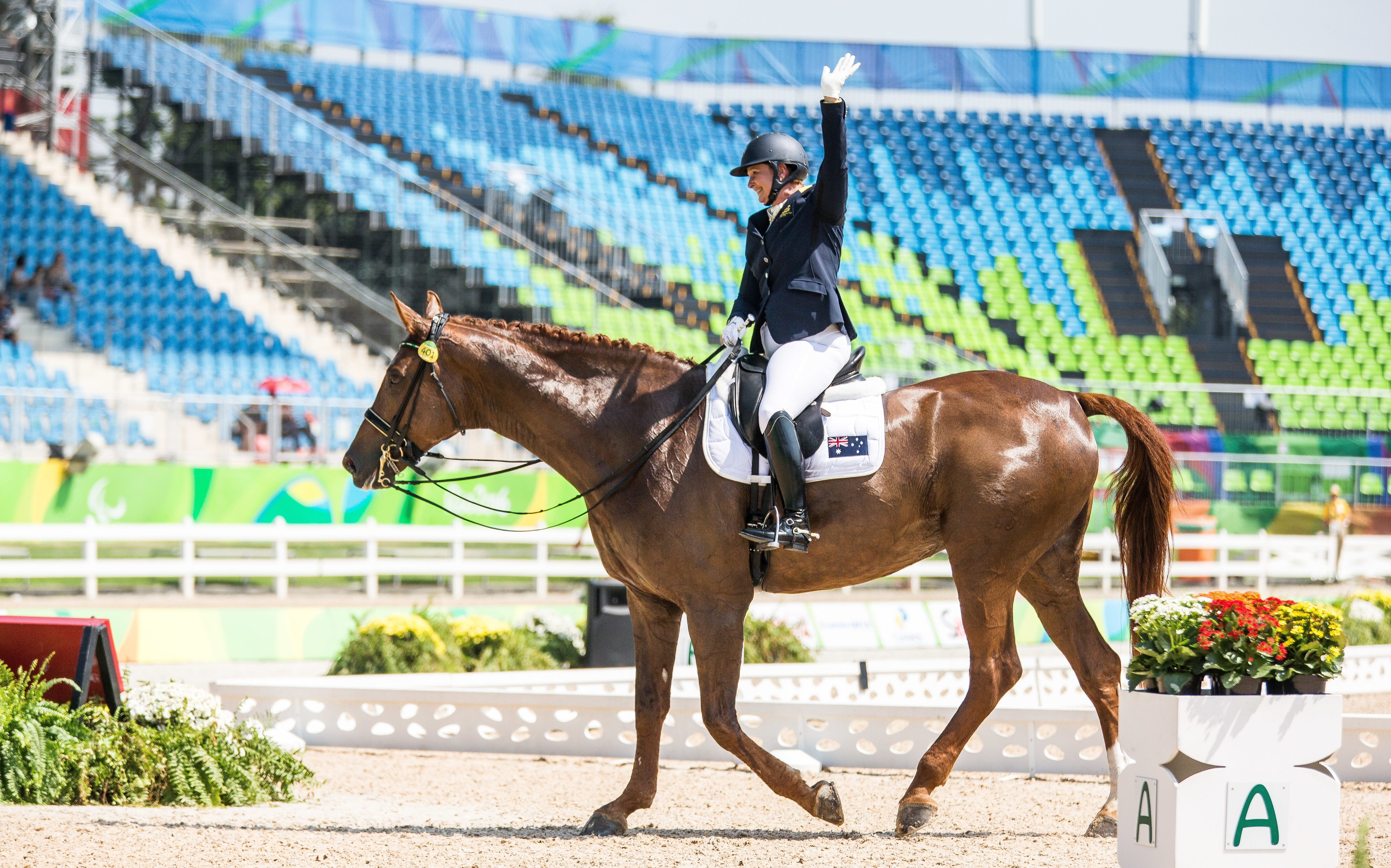 Para-dressage champions crowned in Sydney