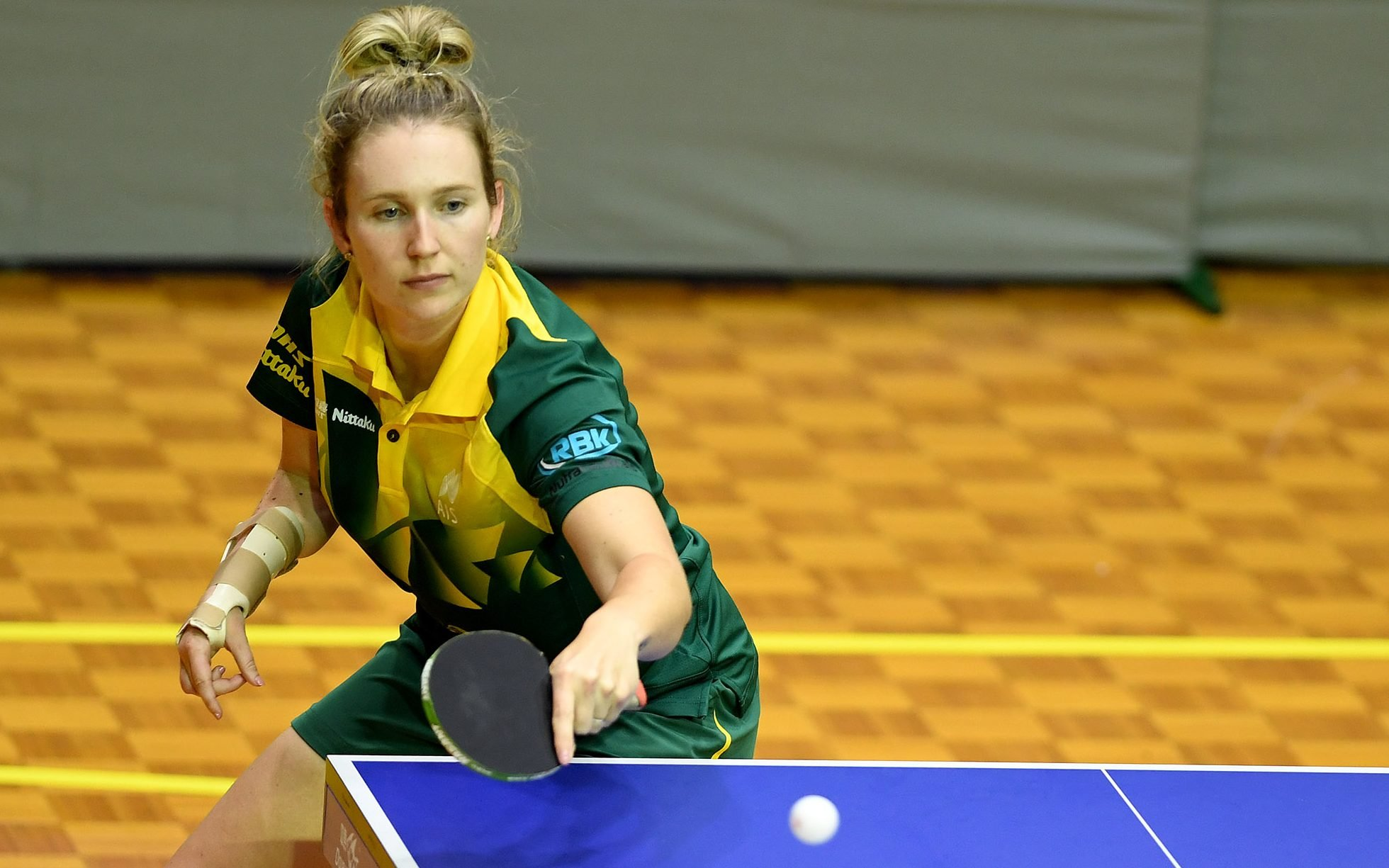 Competition heats up for Para-table tennis athletes at the Arafura Games