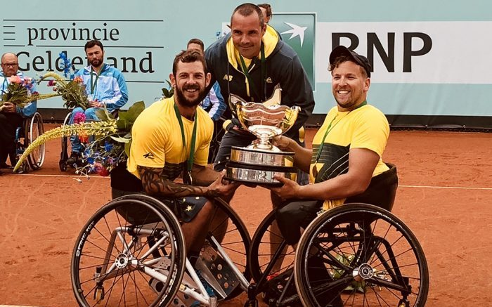 Balancing act for wheelchair tennis coach Vogelsberger