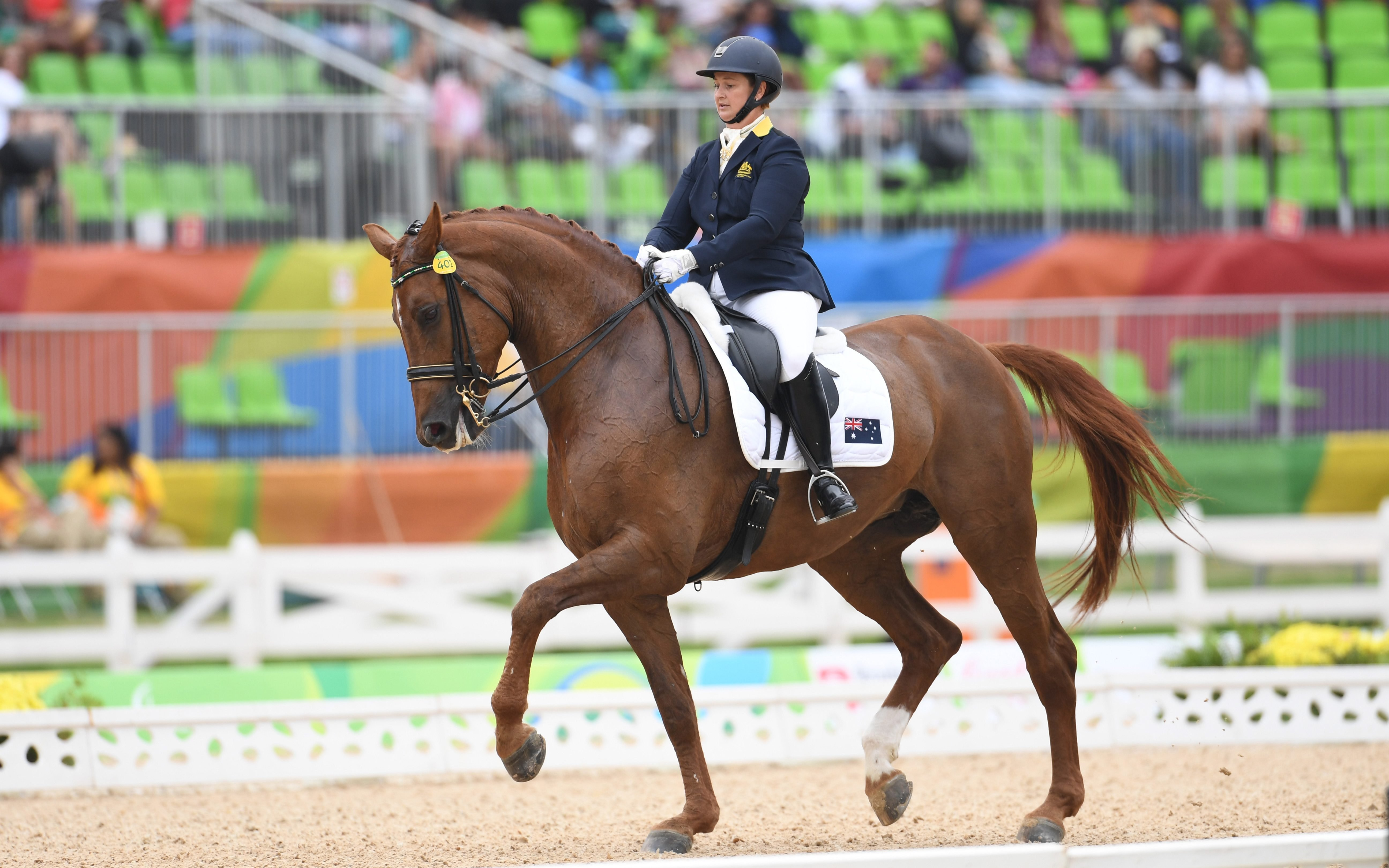 Para-dressage team test opens Sydney International Three-Day Event