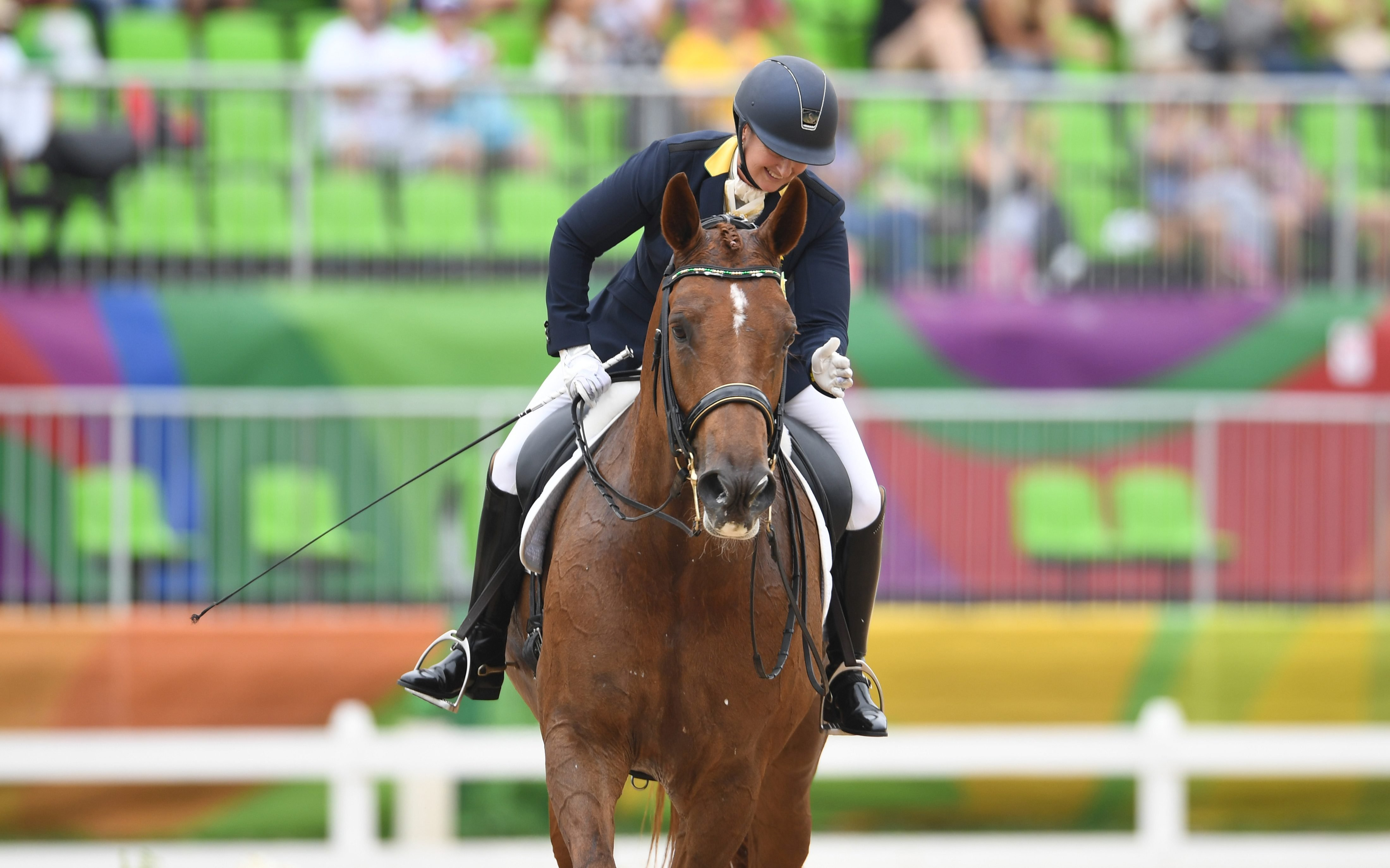Para-dressage competitors shine on day two