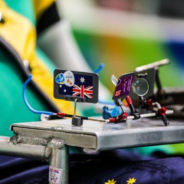 Double bronze for Australia