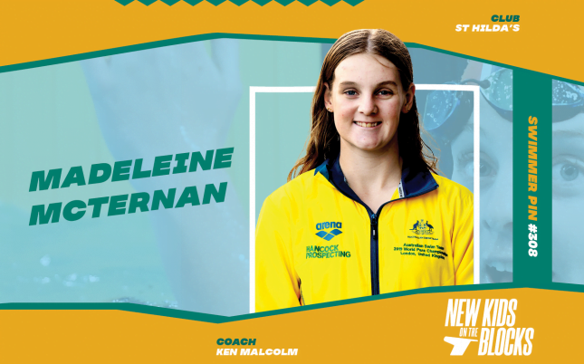 New kids on the block: Madeleine McTernan