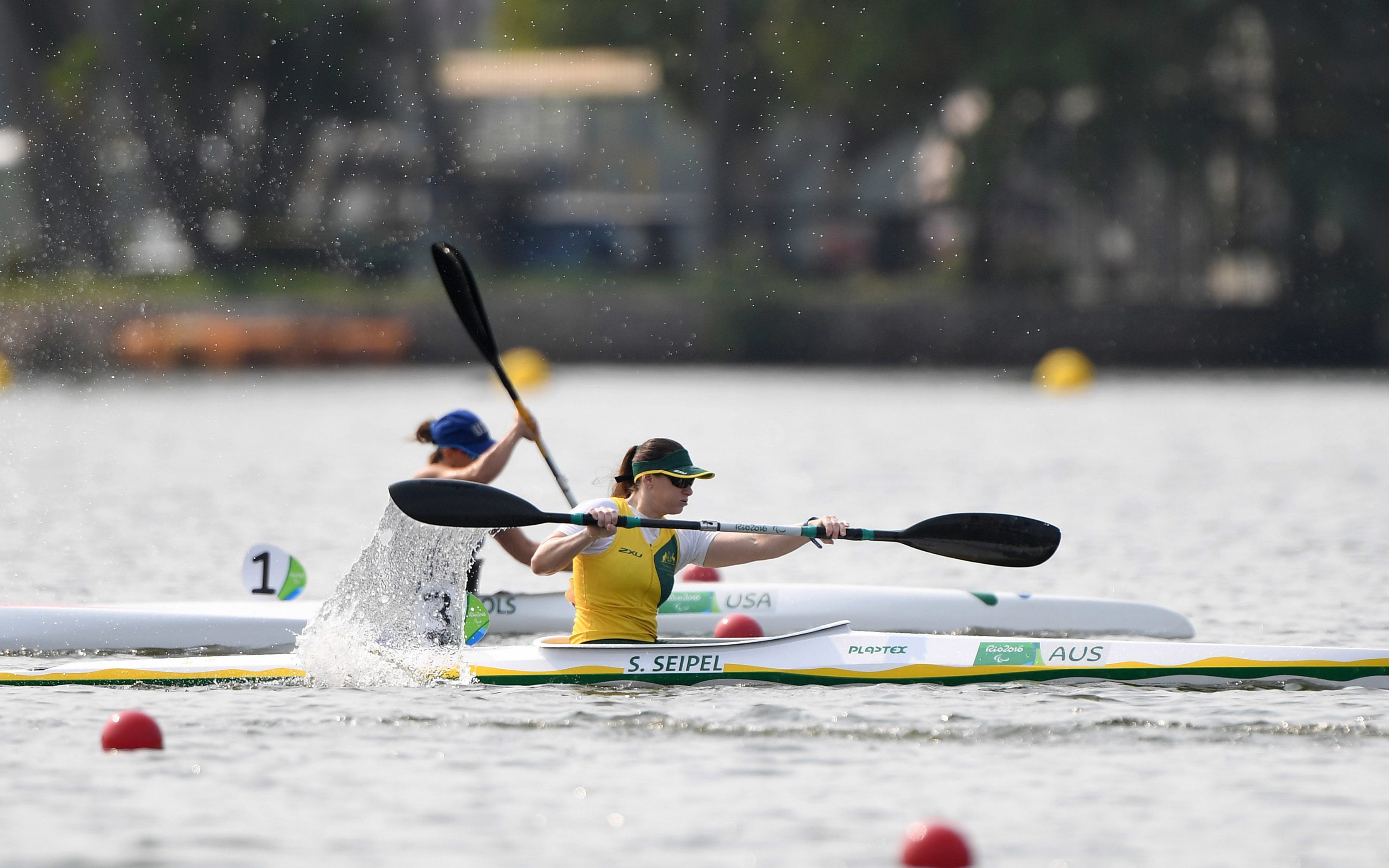 Successful Test Event for Australian paddlers