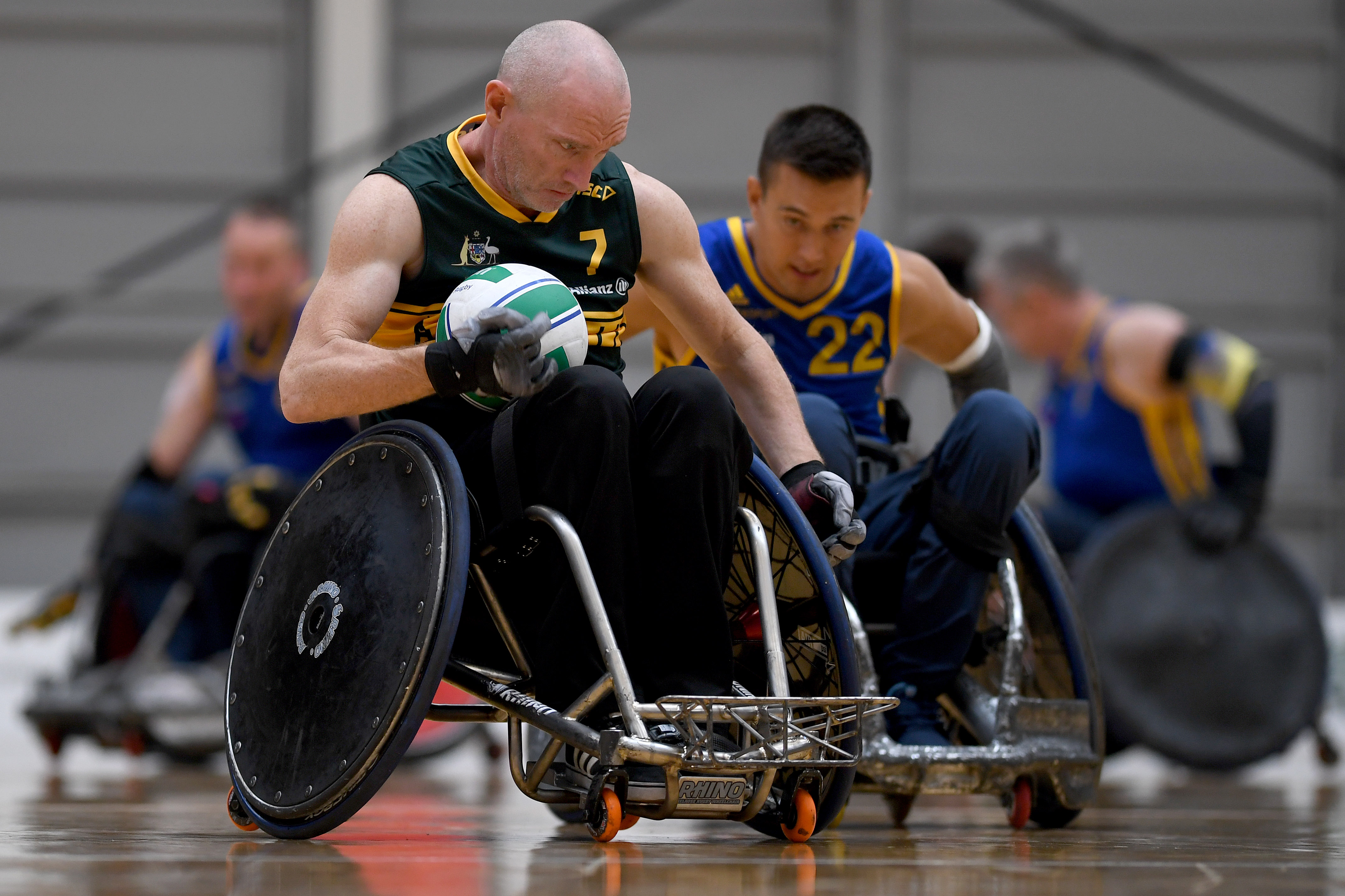 Paralympics Australia announces Steelers for 2019 World Wheelchair Rugby Challenge