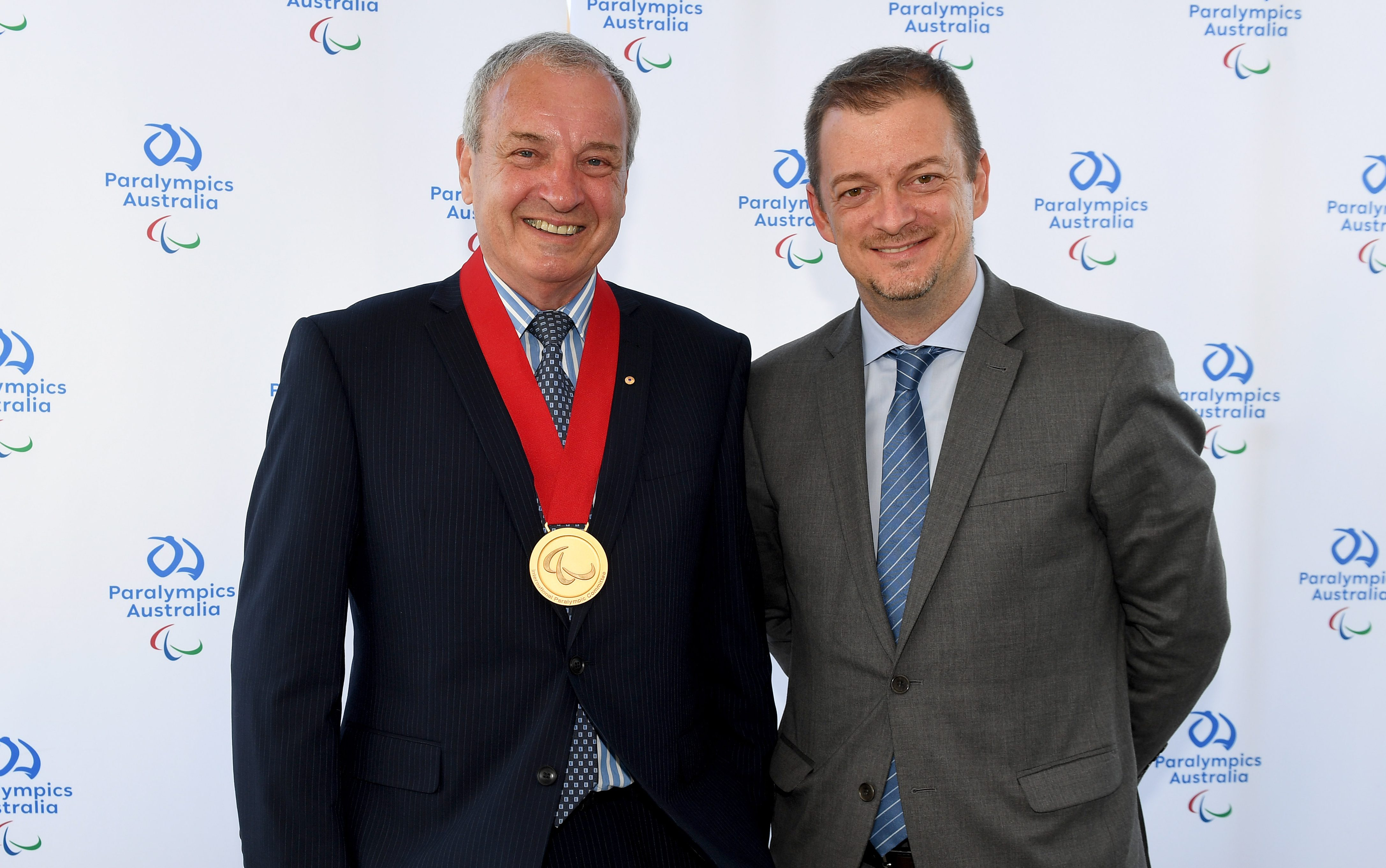 Hartung awarded top Paralympic honour