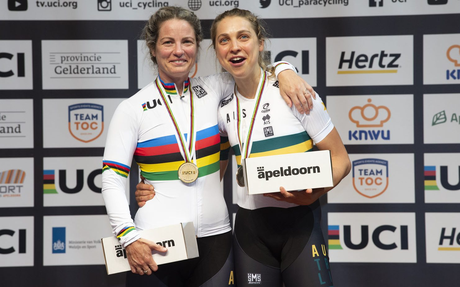 Rainbows shine on Brisbane for Track Nationals