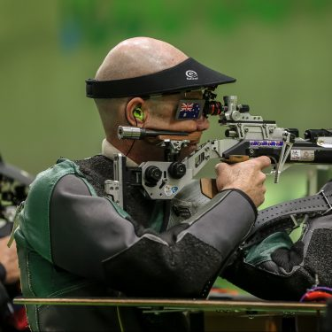 Zappelli finds silver lining at World Shooting Para-sport Championships in Sydney