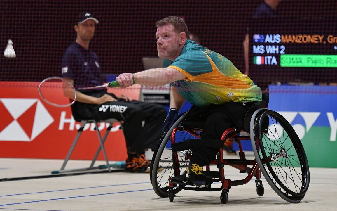Training boost for Para-badminton players