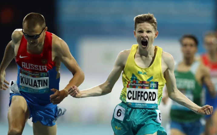Clifford wins gold on opening night in Dubai
