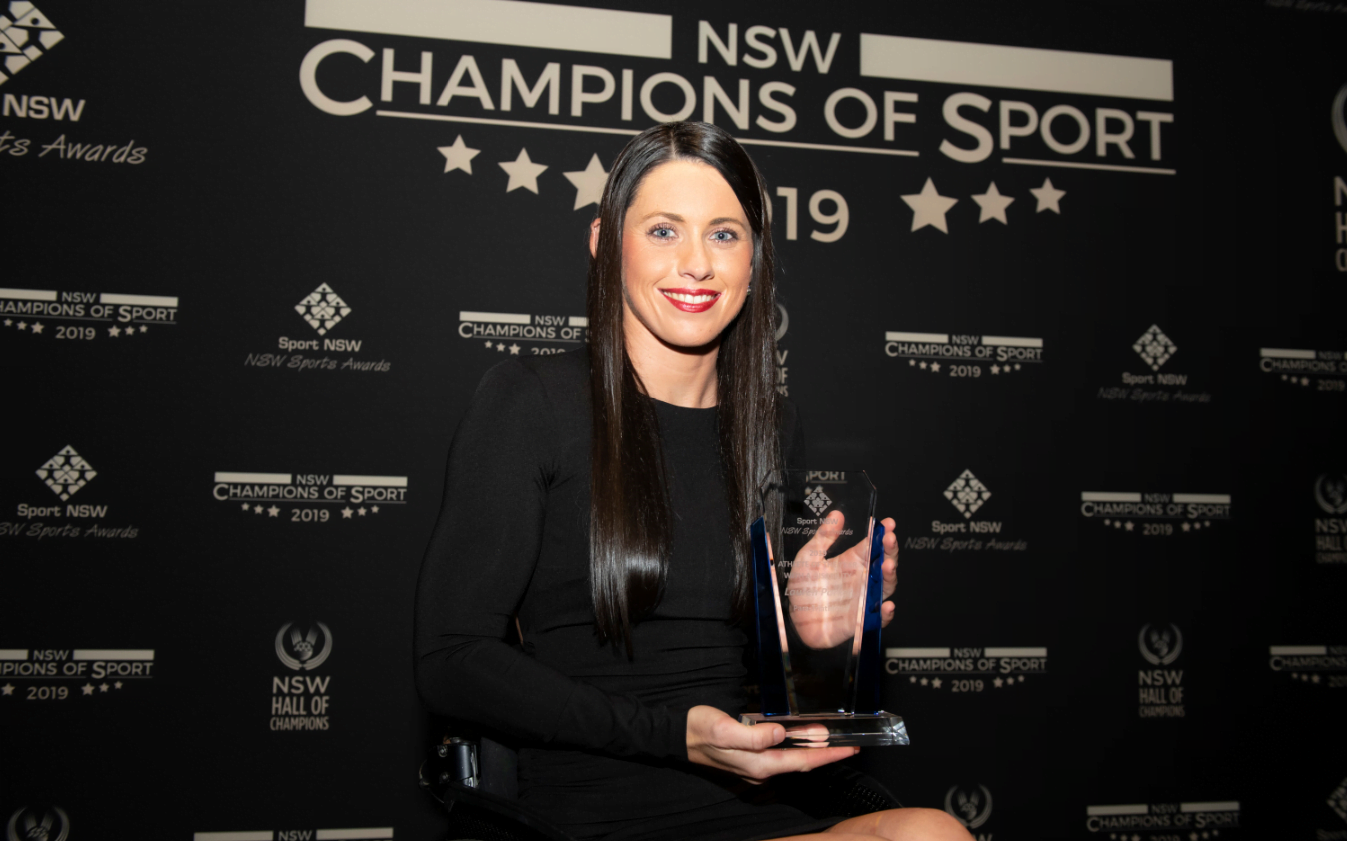 Parker and Tudhope win big at NSW Champions of Sport Ceremony