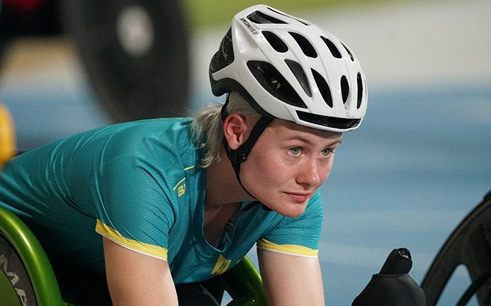 Lambird eyeing Tokyo as she makes her World Championships debut