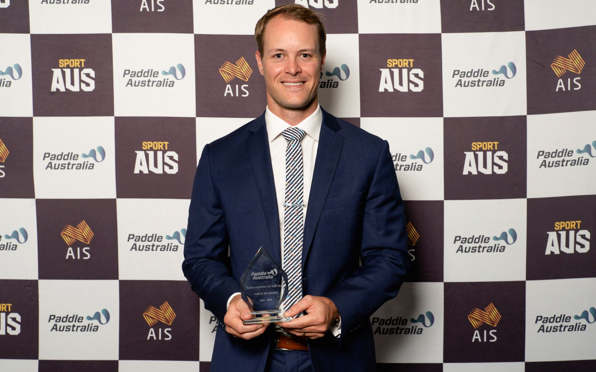 McGrath achieves top gong at Paddle Australia Awards