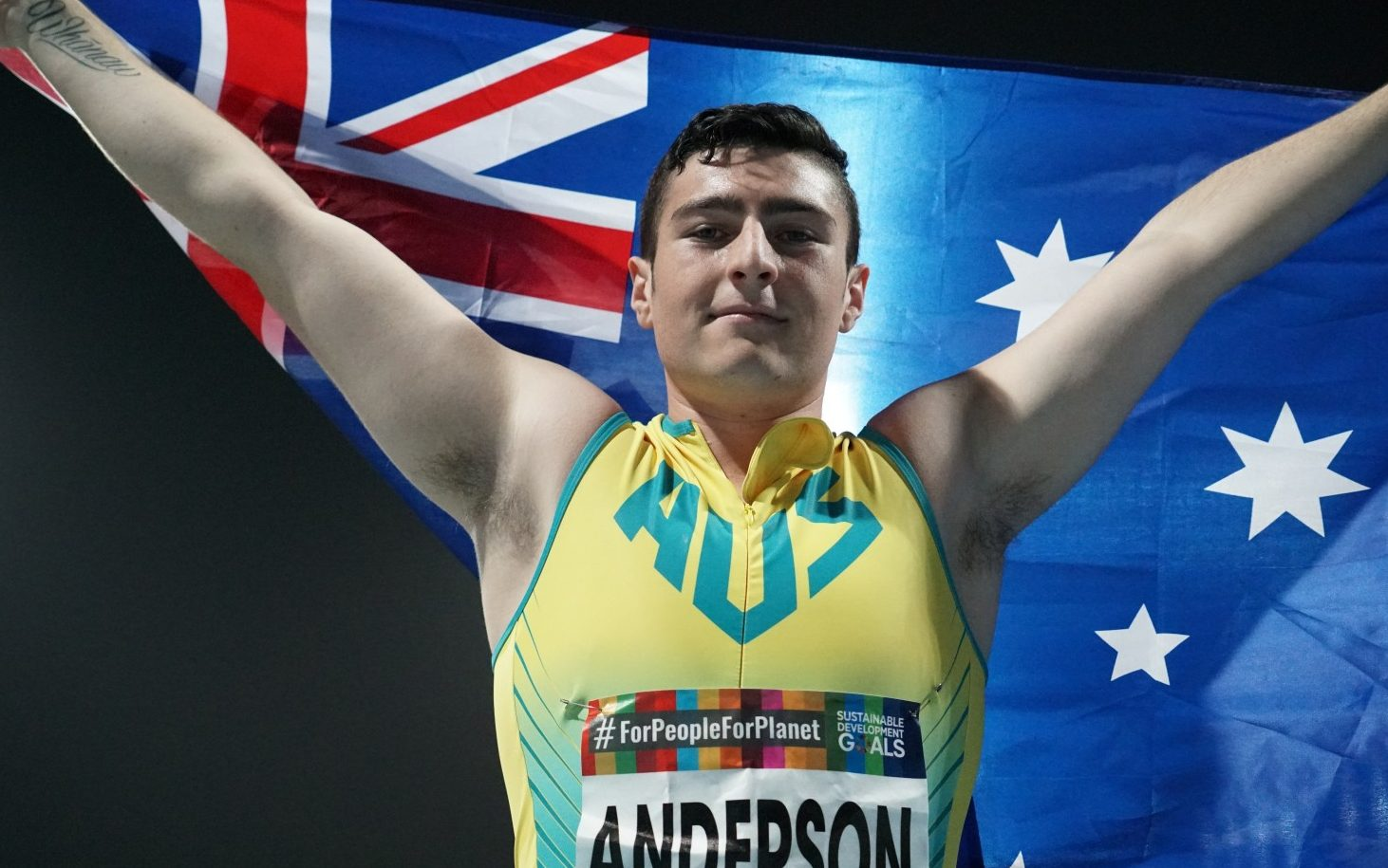 Anderson crowned world champion with record-breaking throw