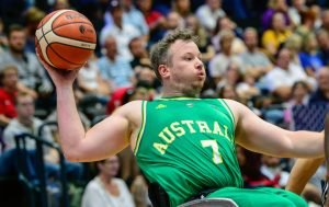 An image of Shaun Norris in action during Wheelchair Basketball