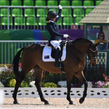 Para-equestrian athletes shine at Dressage Festival