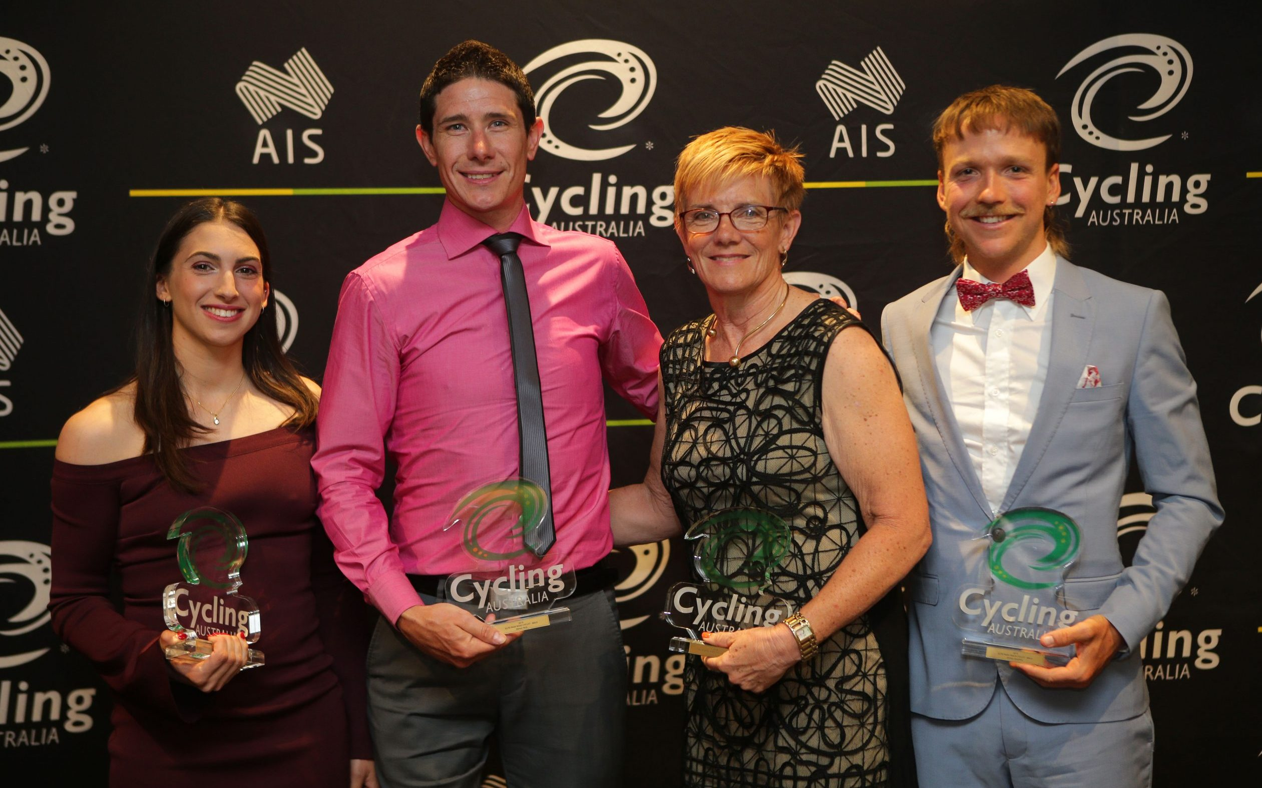 Para-cyclists celebrated at star-studded awards
