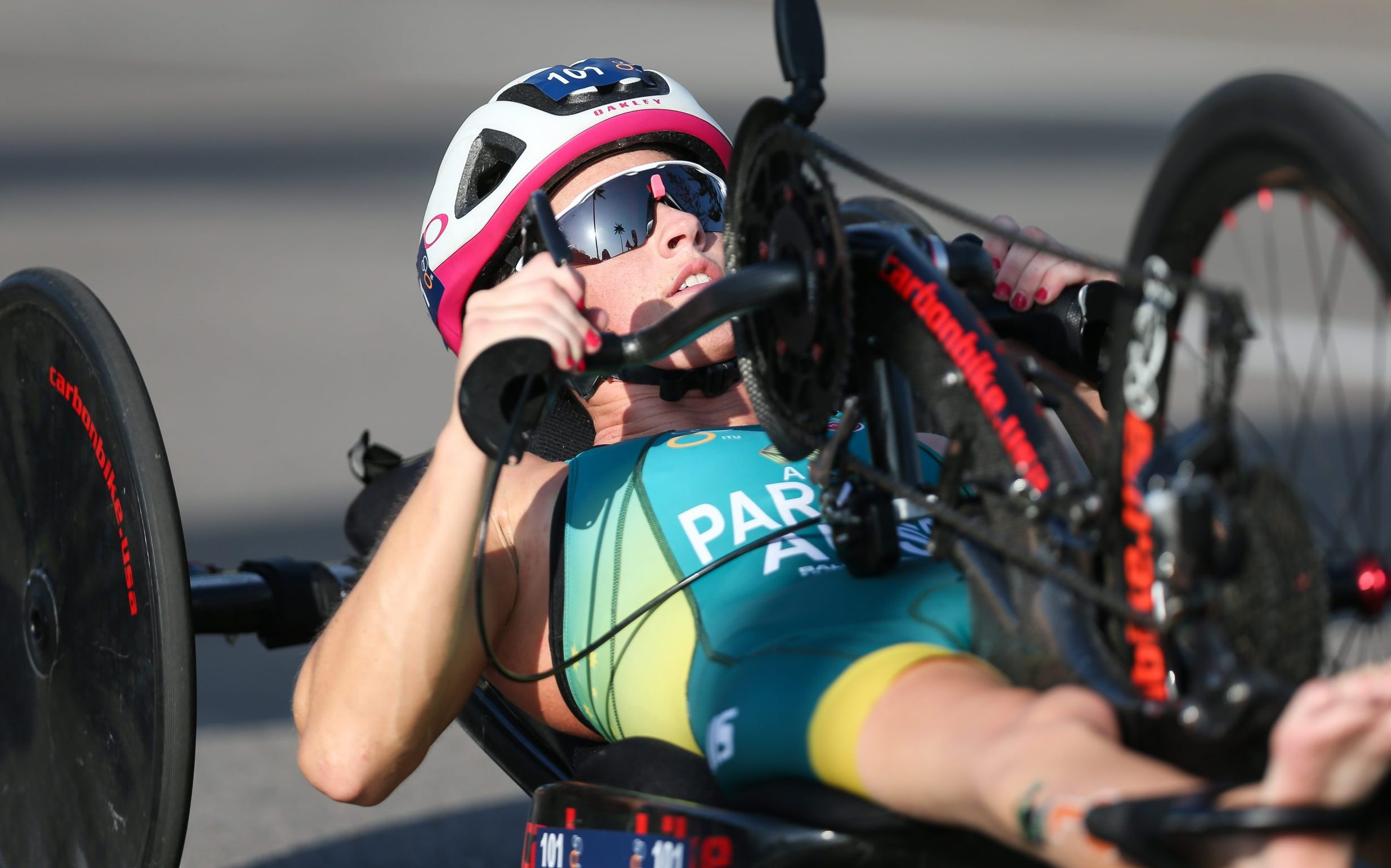 Para-triathletes stamp their 2020 intentions in Newcastle