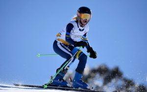 Image of Patrick Jensen skiing